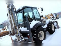 Backhoe loader TEREX 970, 2011, 5300 m/h, 3 bucket
