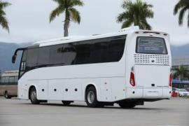 Bus tourist king long XMQ 6127 in Vladivostok