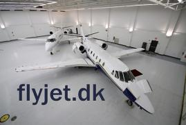 Business aviation flights to Denmark