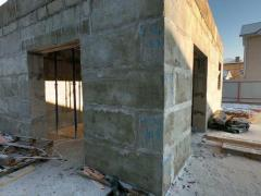 Construction of Houses from Polystyrene Concrete Teplobeton