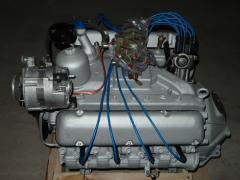 Двигатель газ 53, 3307