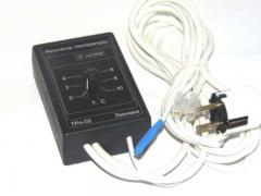 Electronic thermostat TRo-02 for the cellar, Omshanik