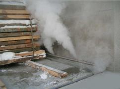 I sell an industrial steam generator in Moscow