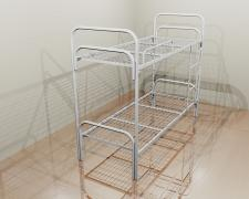 Metal bed army, clamshell