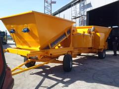 Mobile concrete batching plant Sumab LT 1800 (60 m3 / h) Sweden