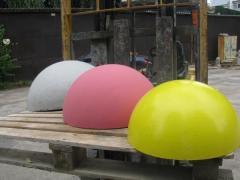 Полусфера бетонная, полусферы бетонные антипарковочные