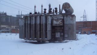 Power transformer, used. Sale, dismantling, demolition