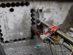 Пробурить отверстия в стене, плите, фундаменте Алмазное бурение