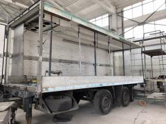 Sandwich panel for trailers and semi-trailers