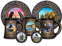 Souvenirs with views of Russian cities wholesale. Russian souvenir opt