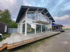 Строим фахверковые дома из пассивного клееного бруса
