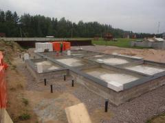 Строительство комбинированного фундамента