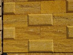 The Crimean tiles made of natural stone